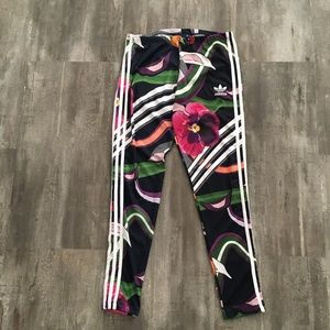 139c7e15679 adidas Pants | Original 3stripe Floral Burst Leggings | Poshmark